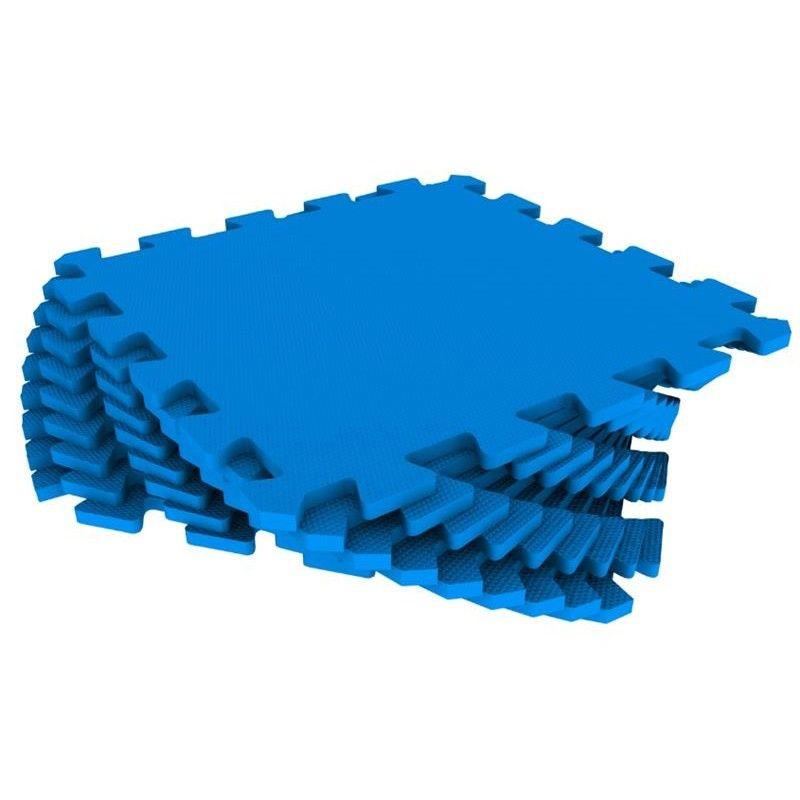 Мягкий пол универсальный 33 x 33 см Синий