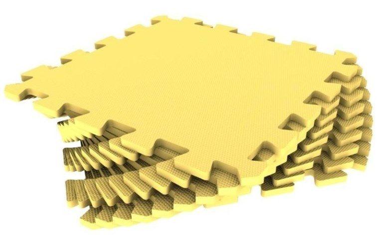 Мягкий пол универсальный 33 x 33 см Желтый