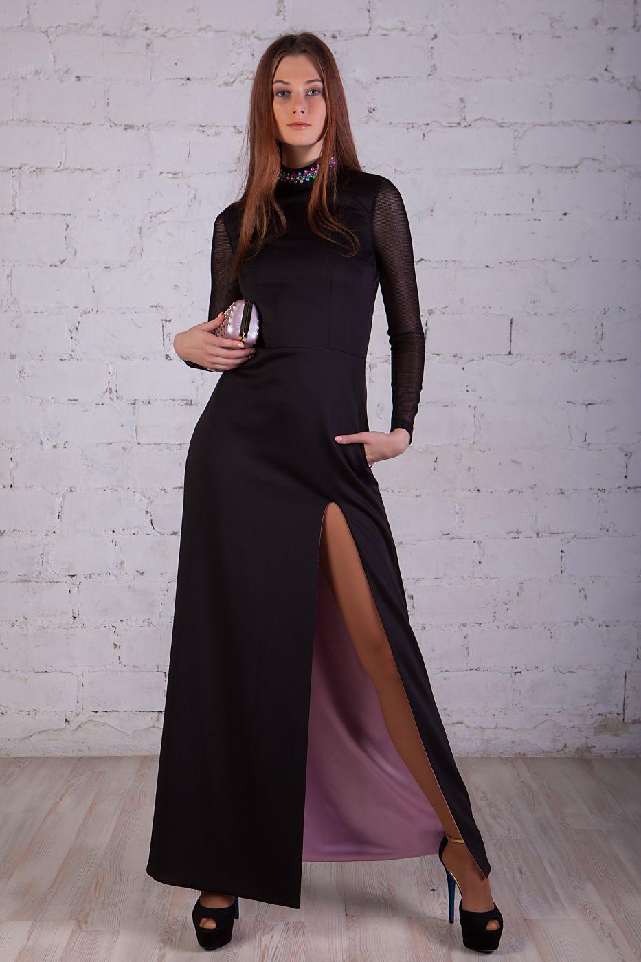 Платье вечернее с открытой спиной