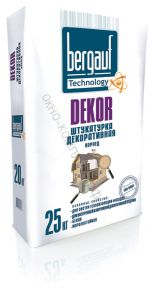 Штукатурка DECOR COROed  фракция 2,5мм 25кг 1уп=56   Bergauf
