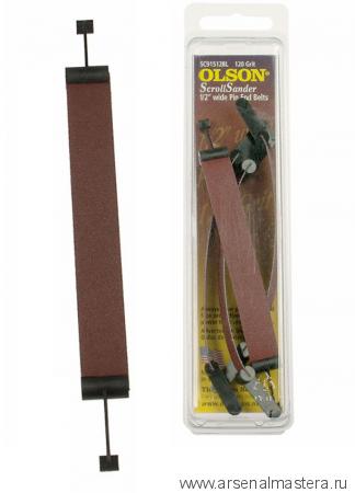 Шлифовальные ленты для лобзиковых станков Pegas 12мм 80 грит 4 шт. Olson М00014843
