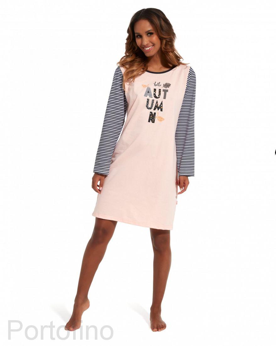 640-153 Женская сорочка с длинным рукавом Cornette