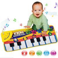 Детский музыкальный коврик-пианино