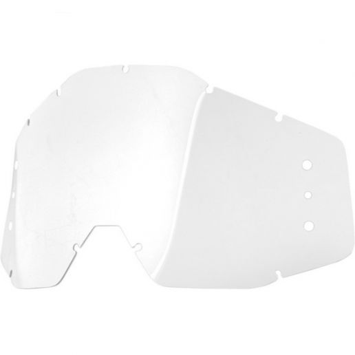 100% - Speedlab Vision System Replacement Lens Clear With Holes