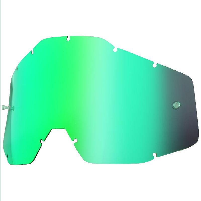 100% - Линза для очков всех моделей, Green Mirror