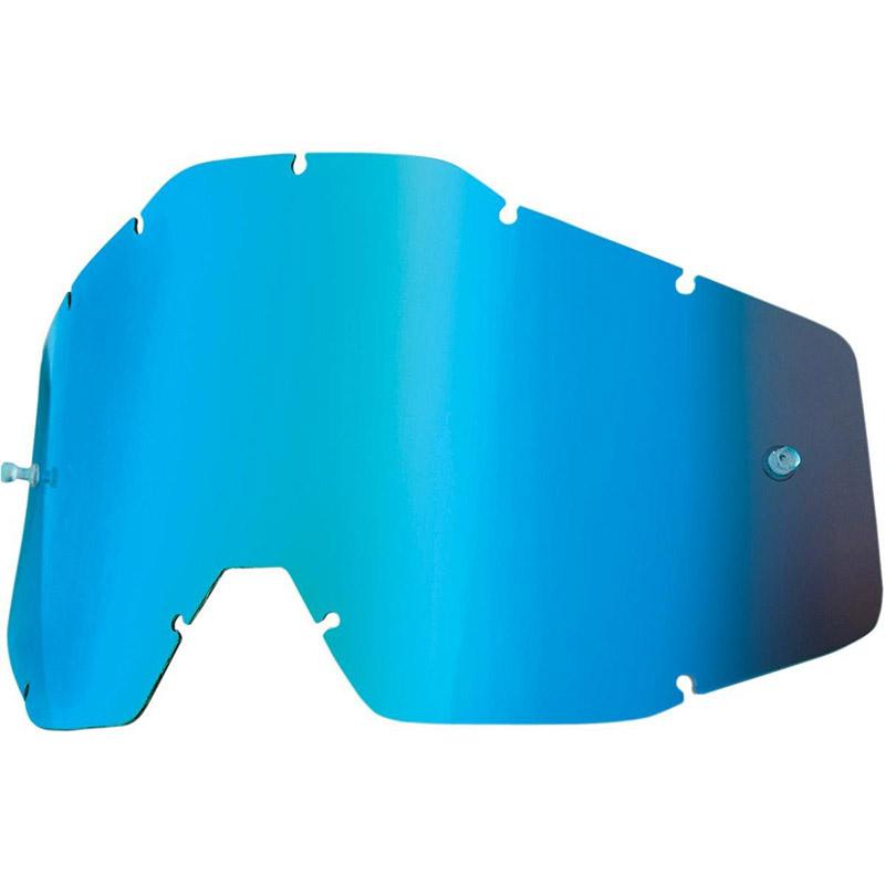 100% - Линза для очков всех моделей, Blue Mirror