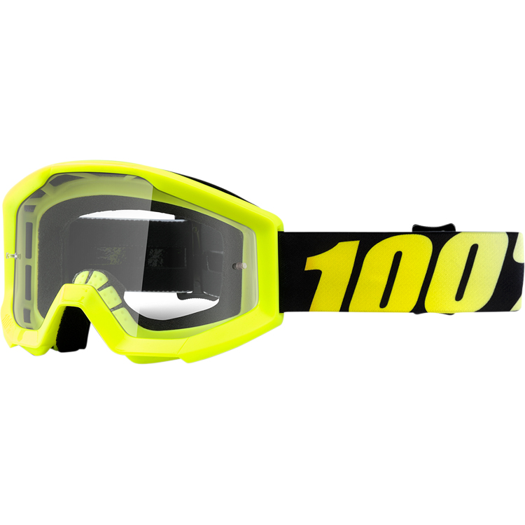 100% - Strata JR Yellow очки подростковые, прозрачная линза