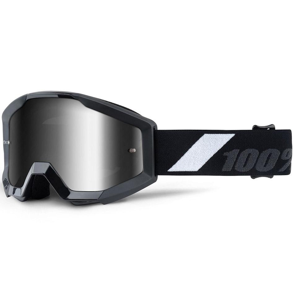 100% - Strata JR Goliath Mirror Silver Lens, очки
