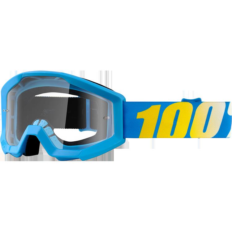 100% - Strata JR Cyan Blue очки подростковые, прозрачная линза
