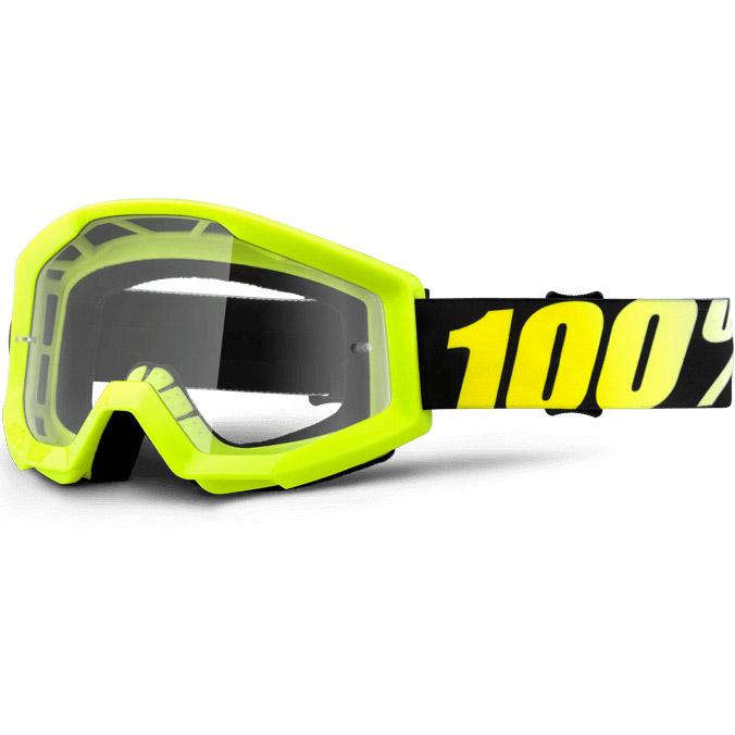 100% - Strata Yellow очки, прозрачная линза