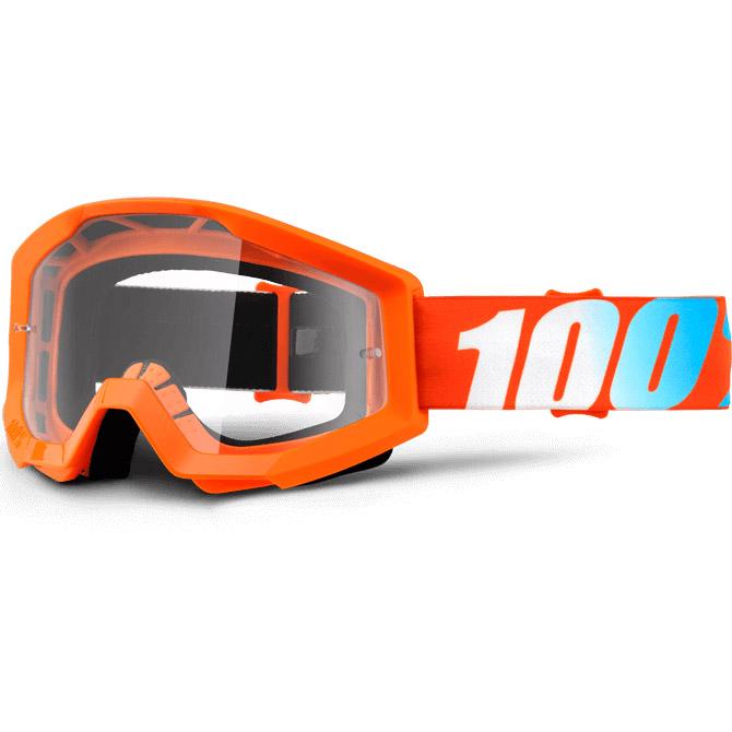 100% - Strata Orange очки, прозрачная линза