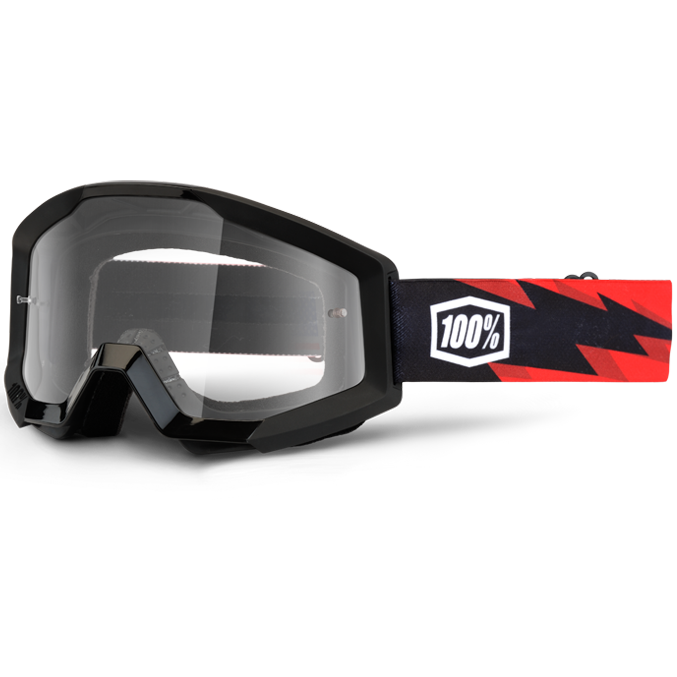 100% - Strata Slash очки, прозрачная линза
