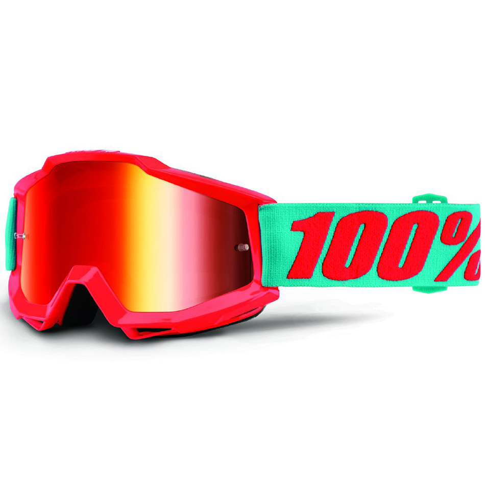 100% - Accuri JR Passion Orange Mirror Red очки подростковые, линза зеркальная красная