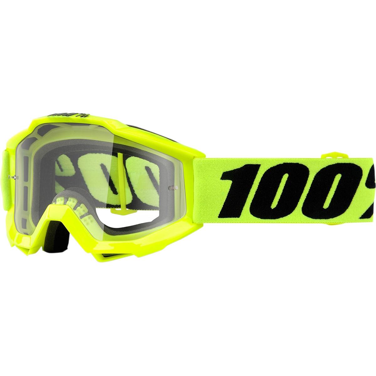 100% - Accuri JR Fluo Yellow очки подростковые, линза прозрачная