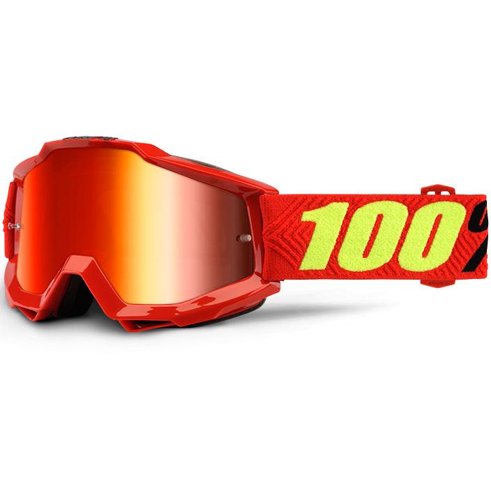 100% - Accuri Saarinen очки, линза зеркальная, красная