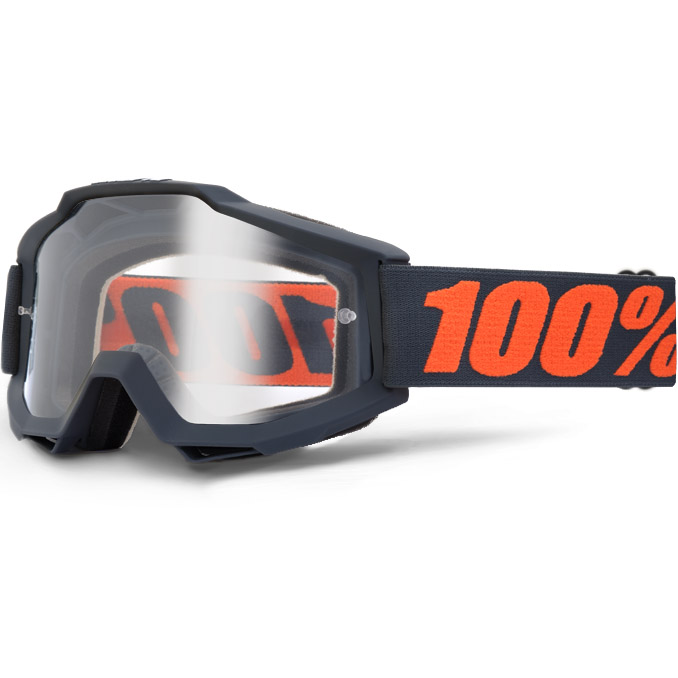 100% - Accuri Gunmetal очки, прозрачная линза