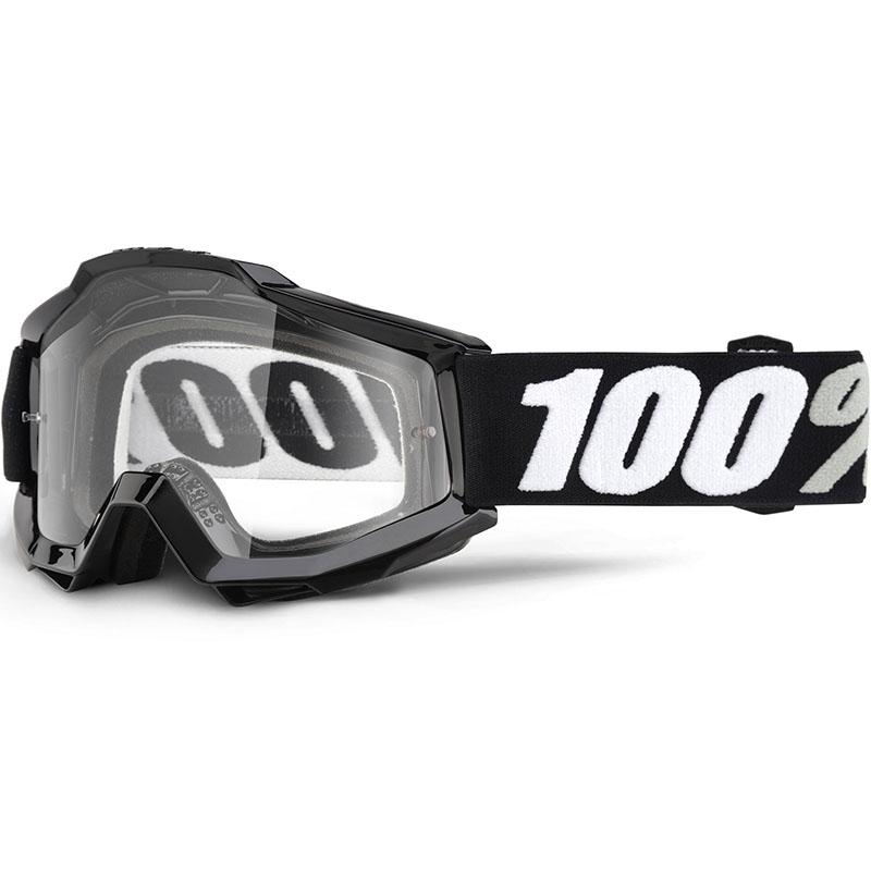 100% - Accuri Black Tornado очки, прозрачная линза