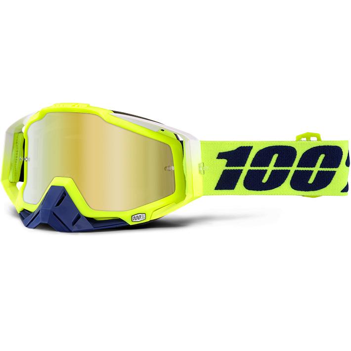 100% - Racecraft Tanaka очки, линза зеркальная, золотая