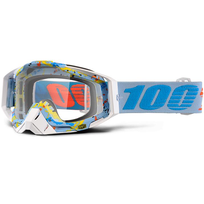 100% - Racecraft Hyperloop очки, прозрачная линза
