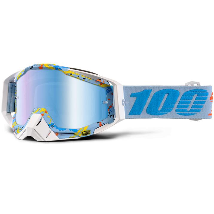 100% - Racecraft Hyperloop очки, линза зеркальная, синяя