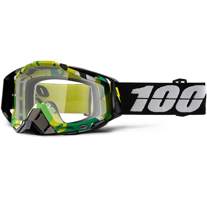 100% - Racecraft Bootcamp очки, прозрачная линза