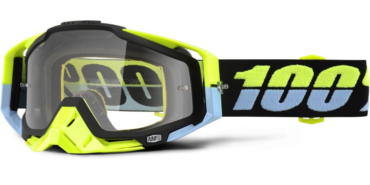 100% - Racecraft Antigua очки, прозрачная линза