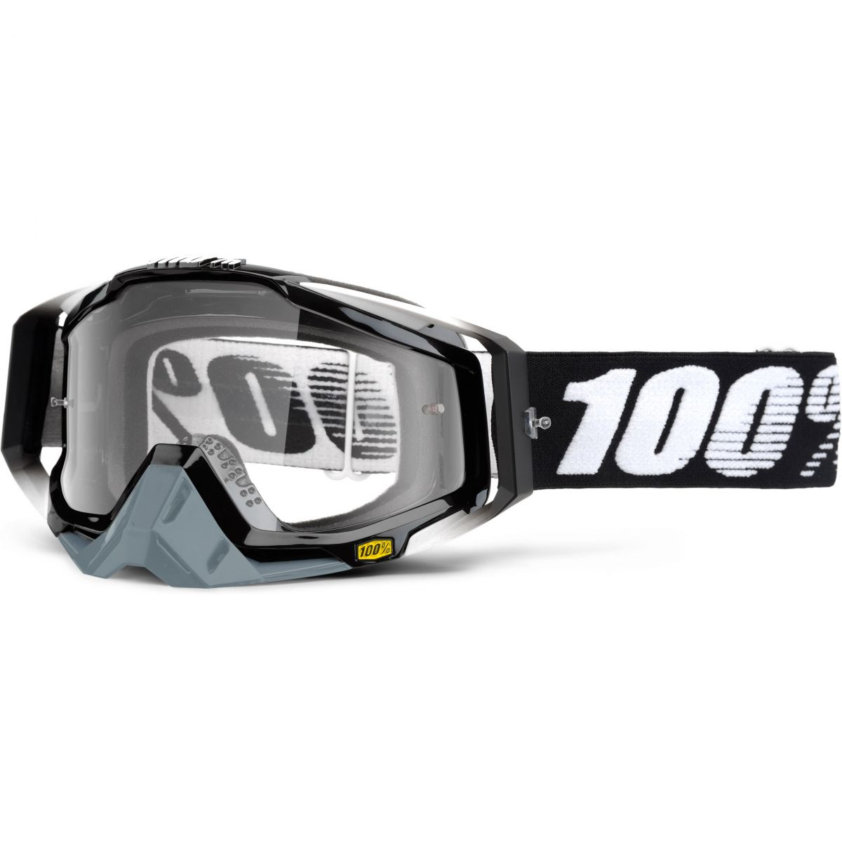 100% - Racecraft Abyss Black очки, прозрачная линза