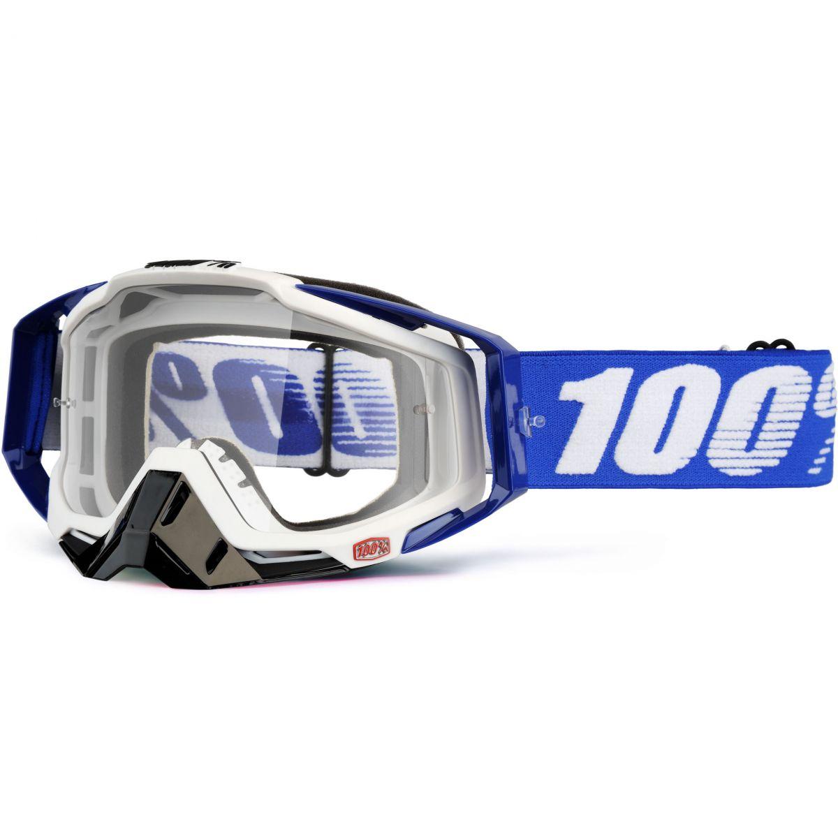 100% - Racecraft Cobalt Blue очки, прозрачная линза