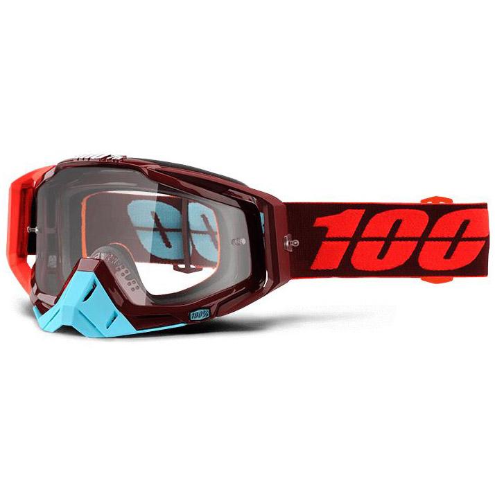 100% - Racecraft Kikass очки, линза прозрачная,