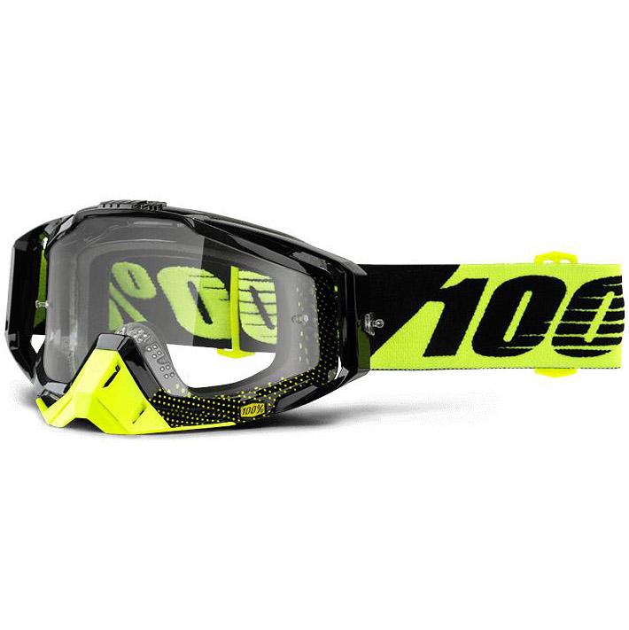 100% - Racecraft Cox очки, линза прозрачная,