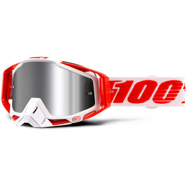 100% - Racecraft Plus Bilal Silver Mirrored Lens, очки