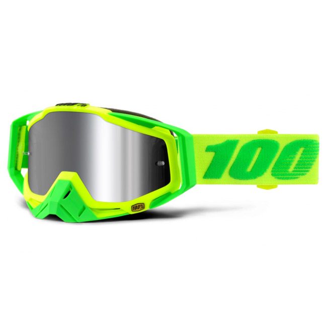 100% - Racecraft Plus Sour Soul Silver Mirrored Lens, очки