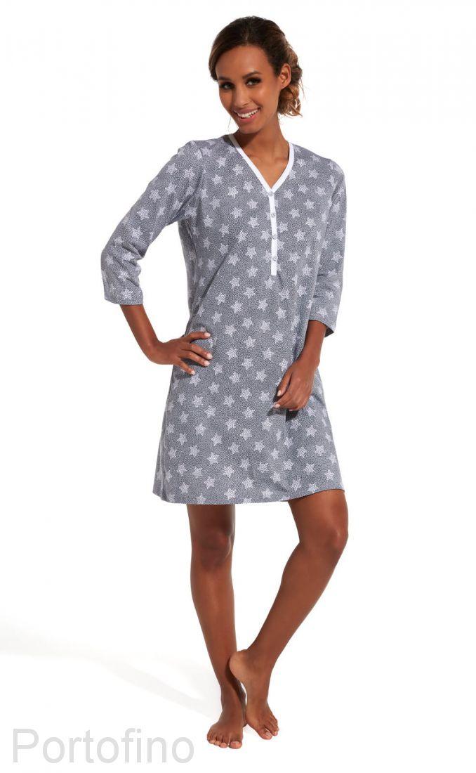 651-151 Женская сорочка с длинным рукавом Cornette