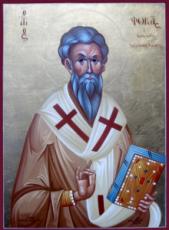 Фока Синопский (рукописная икона)