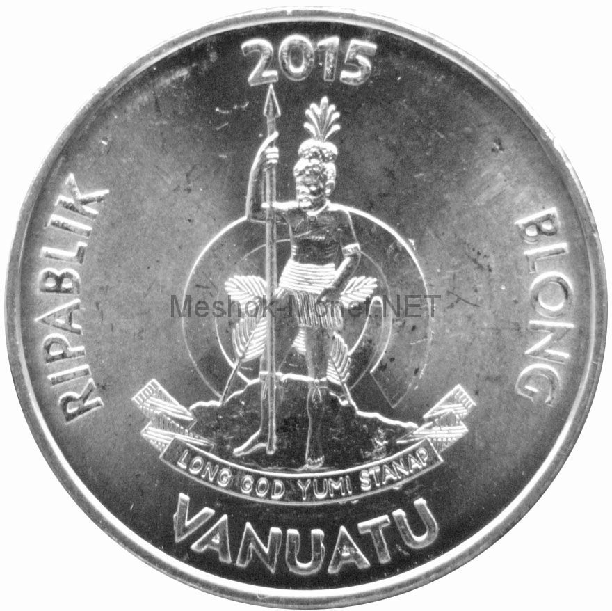 Вануату 10 вату 2015 г.