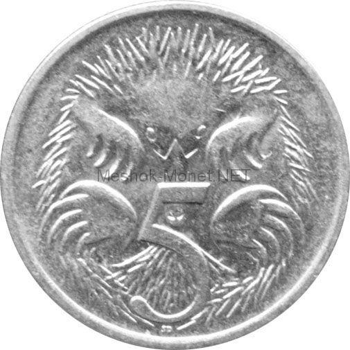 Австралия 5 центов 1990 г.