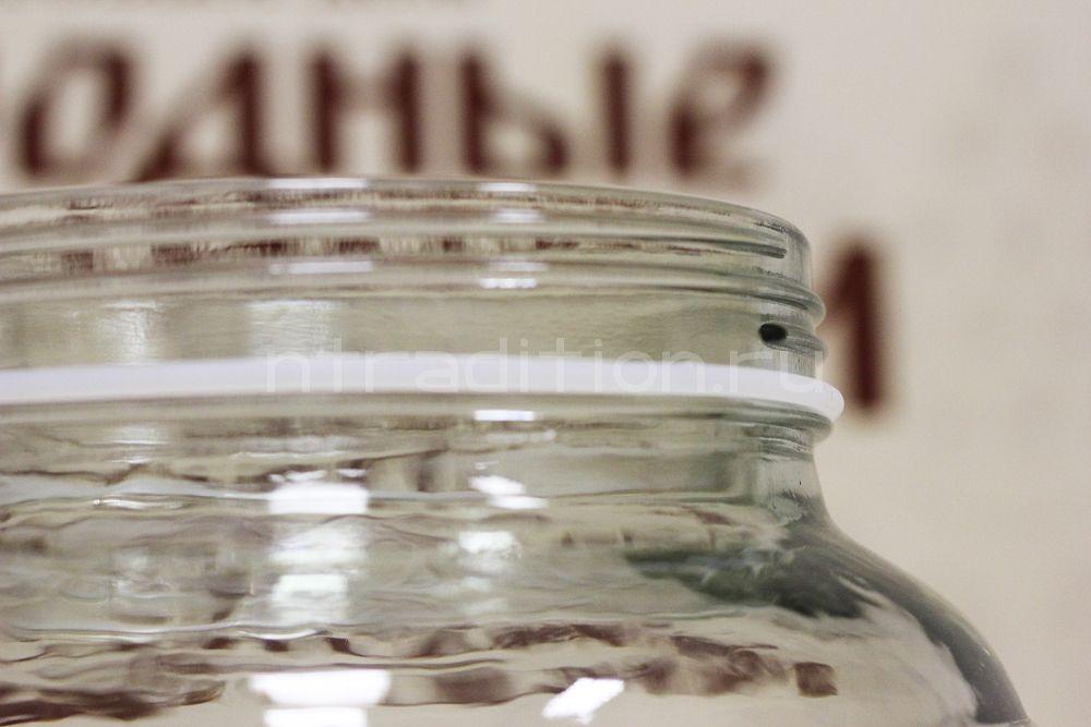 Прокладка силиконовая для банки с гидрозатвором
