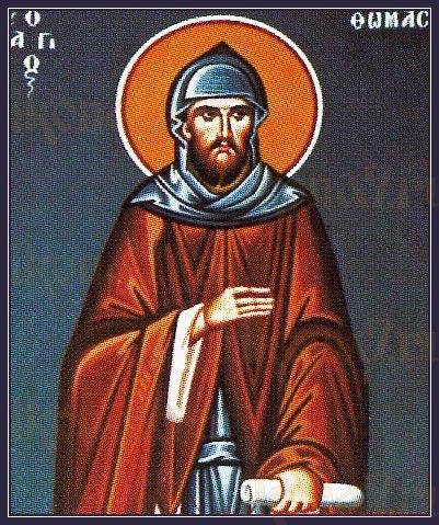 Фома Дефуркин (рукописная икона)