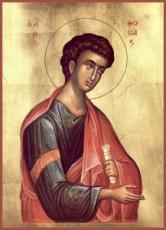Фома Дидим (Близнец) (рукописная икона)