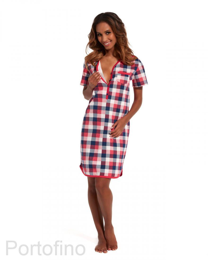617-148 Женская сорочка с коротким рукавом Cornette