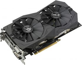 Видеокарта ASUS Radeon RX 570 Strix OC Gaming 4096Mb