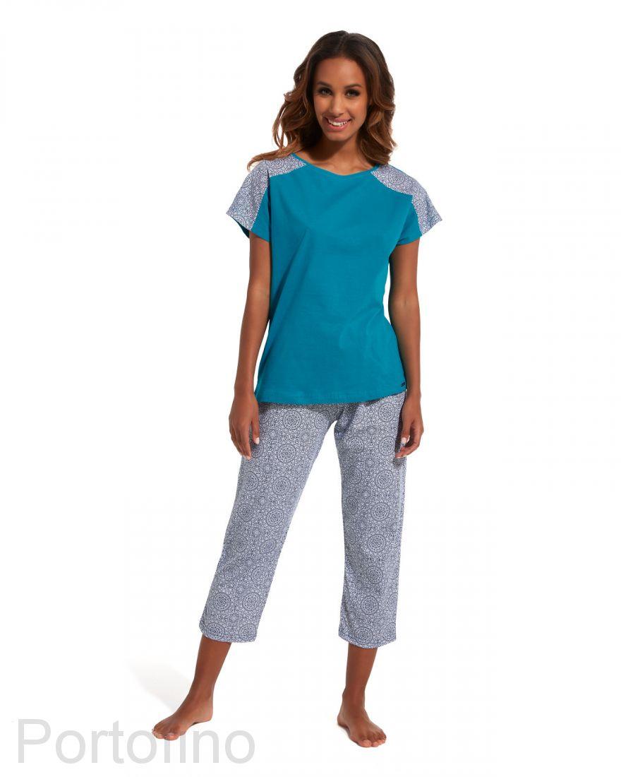 148-140 Пижама женская с длинным рукавом Cornette