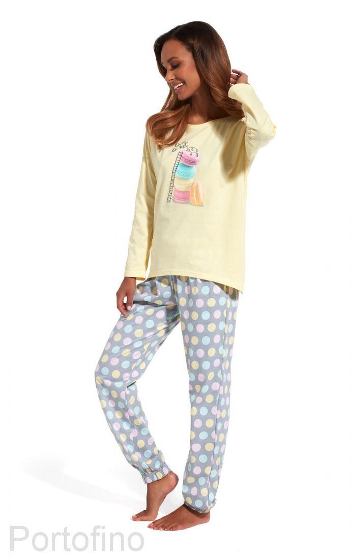 625-124 Пижама женская с длинным рукавом Cornette