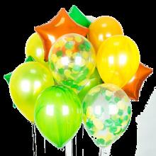 Набор гелиевых фольгированных шаров Вегас