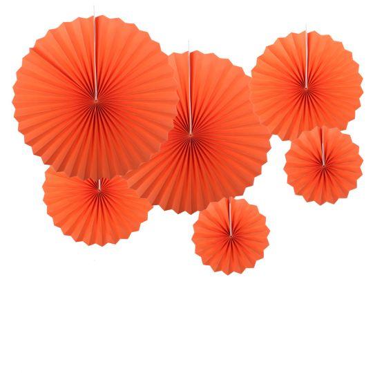 Набор из 6 фантов Оранжевый