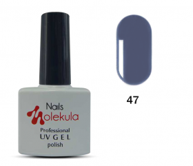 ГЕЛЬ-ЛАК NAILS MOLEKULA GEL POLISH №47 ГРАФИТ 11ML