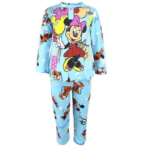Пижама с начесом для девочек 2-6 лет BB026