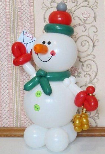 Снеговик в.4