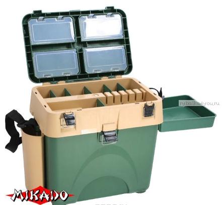 Купить Зимний рыболовный ящик Mikado UAC-1002 (45 x 38 26 см.)