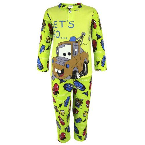 Пижама с начесом для мальчиков 2-6 лет BB0301